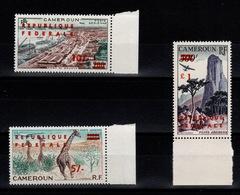 Cameroun - YV PA 49 / 50 / 51 N** Complète - Cameroun (1960-...)