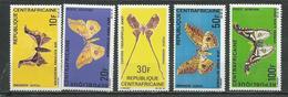 CENTRAFRIQUE  Scott C66-C70 Yvert PA69-PA73 ** (5) Cote 20,50 $ 1969 - Centrafricaine (République)