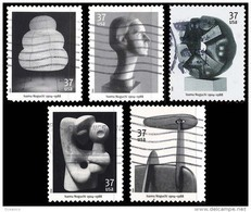 Etats-Unis / United States (Scott No.3857-61 - Sculpteur / Isamu Noguchi / Sculptor) (o) Série / Set - Verenigde Staten