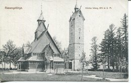 005830  Krummhübel - Kirche Wang - Schlesien