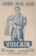 Buvard - Vetements De Travail VULCAIN -  Villefranche Sur Saone - Lyon - Chocolat