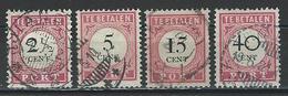 Niederländisch Indien NVPH P14, 15, 17, 20, Mi P16-18, 20 O - Niederländisch-Indien