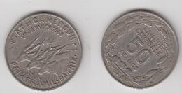 50 FRS 1960 - ETAT DU CAMEROUN - Cameroun