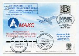 "2009 RUSSIA POSTCARD ""B"" MAKS INT. AVIATION & SPACE SALON ZHUKOVSKY SPP - Vliegtuigen"