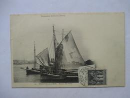 TROUVILLE   - PRECURSEUR DE 1901  -  BATEAU DE PECHE     - TIMBRE TYPE SAGE      TTB - Trouville