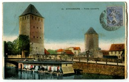 CPA 67 Bas Rhin Strasbourg Ponts Couverts Lavoirs - Strasbourg