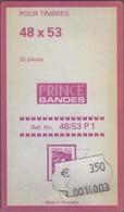 Paquet De 25 Pochettes Noires Hawid Simple Soudure Format 48 X 53 à - 50% - Bandes Cristal