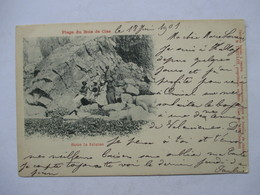 BOIS DE CISE    - PRECURSEUR DE 1901  - SOUS LA FALAISE      - TIMBRE TYPE SAGE      TTB - Ault