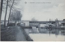 Leuven - Het Kanaal En De Brug Van Wilsele - SBP 1 - Leuven