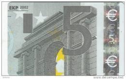 FINLAND(chip) - Banknote 5 Euro, Elisa Telecard, CN : ELI 000188, Tirage 5000, 08/02, Used - Finland