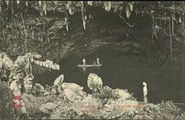Polynésie Française -Océanie - Tahiti - Grotte De Maraa - (Noir Et Blanc) (Photo Gauthier) - Polynésie Française