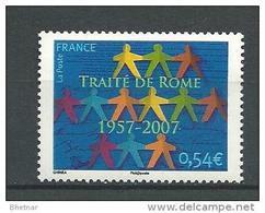"""FR YT 4030 """" Traité De Rome """" 2007 Neuf** - France"""