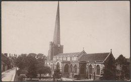 St Mary's Church, Bridgwater, Somerset, 1911 - Valentine's XL Series RP Postcard - England