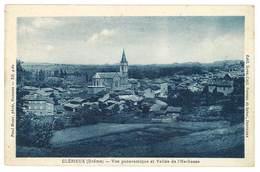 Cpa Clérieux - Vue Panoramique Et Vallée De L'Herbasse - Autres Communes