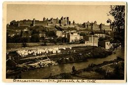 CPA 11 Aude Carcassonne Vue Générale De La Cité - Carcassonne