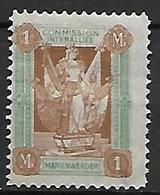MARIENWERDER    -    1920.    Y&T N° 21 (*) . Commission Interalliée - Allemagne