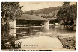 CPA 58 Nièvre Taconnay Le Lavoir Animé Lavandières - France