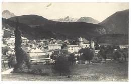 Cpa Montmaur - Vue Générale - Dans Le Fond, Pic De Bure - Autres Communes