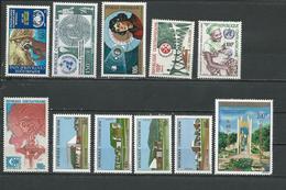 CENTRAFRIQUE  Voir Détail ** (11) Cote 13,50 $ 1973-6 - Centrafricaine (République)