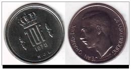 Monnaie, Luxembourg, Jean, 10 Francs, 1978, TTB, Nickel - Luxembourg