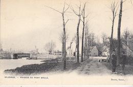 Vilvoorde - Vilvorde - Paysage Au Pont Brûlé - Uit. Decrée, Zusters - Vilvoorde
