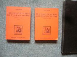 Jacob Boehme  Des Trois Principes De L'essence Divine Tome I & II - Esotérisme