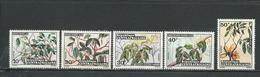 CENTRAFRIQUE  Scott 184-188 Yvert 191-195 ** (5) Cote 6,50 $ 1973 - Centrafricaine (République)