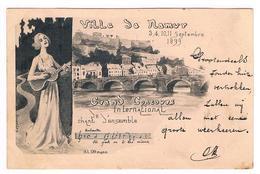 CPA Pionnière : NAMUR - Grand Concours International De Chant D'ensemble , Septembre 1899; Illustr. Ottmann - Namur