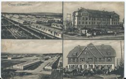 Elsenborn - Camp D'Elsenborn - 4 Vues - Verlag A. Herld - 1920 - Elsenborn (Kamp)