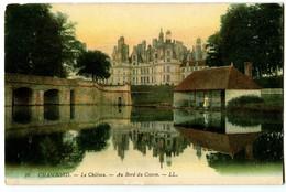 CPA 41 Loir Et Cher Chambord Le Château Au Bord Du Cosson - Chambord