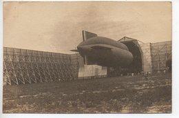 Rochefort Sur Mer : Carte Photo (1919) D'un Dirigeable Sortant De Son Hangar - Rochefort