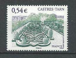 """FR YT 4079 """" Touristique, Castres """" 2007 Neuf** - Francia"""