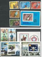 CENTRAFRIQUE  Voir Détail O (9+4blocs) Cote 12 $ 1976 - Centrafricaine (République)