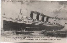 """Paquebot """"FRANCE""""/ Compagnie  Générale  Transatlantique / Vers 1920                MAR74 - Paquebots"""