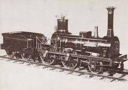 Locomotieven Steamlocs Spoorwegmuseum Belgie 3 Cards - Eisenbahnen