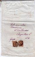 6 JAN 97  Monster Zonder Waarde Met 2x NVPH 36 En Kleinrond AMSTERDAM14 Naar  Argenteuil - Periode 1891-1948 (Wilhelmina)