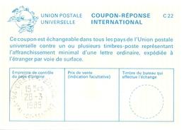 France - Coupon Réponse International - Créteil Eglise - Val De Marne - 28 - 3 - 1985 - Enteros Postales
