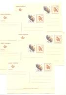 Entier Postal Pré Affranchi 14 + 1 FB - Lot De 5 Entiers Postaux Identiques - Entiers Postaux