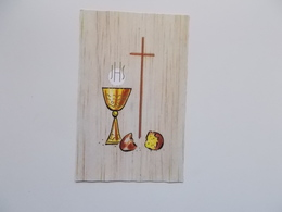 Devotieprent : Plechtige Communie, Dirk DENEVE , Ramskapelle 14 Mei 1967 - Communion