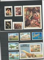CENTRAFRIQUE  Voir Détail O (9+2blocs) Cote 7,50 $ 1978 - Centrafricaine (République)