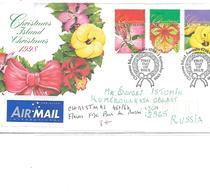 ILES CHRISTMAS N° 467/69 FLEURS FDC POUR LA RUSSIE - Christmas Island