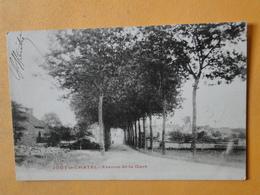 """JOUY Le CHATEL  (Seine & Marne) -- Avenue De La Gare Vers 1900 - Carte """"précurseur"""" 1904 - Autres Communes"""