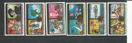CENTRAFRIQUE  Scott 376-379 C206-C209 Yver 379-382 PA201-PA202 ** (6) Cote 7,70 $ 1979 - Centrafricaine (République)