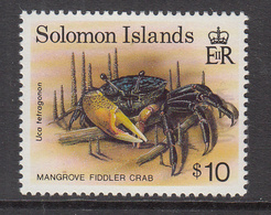 1993 Solomon Islands  Mangrove Fiddler Crab MNH - Solomon Islands (1978-...)