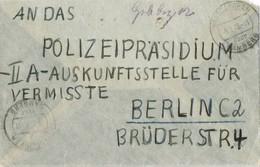 30379. Carta Franquicia STADELHOFEN (Bamberg) Bayern 1946  Zona Sovietica Alemania  PAGADO. Gebühr Bezahlt - Zona Anglo-Américan