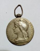 MEDAILLE - CHEMIN De FER - FRANCE - Ministère Des Travaux Publics - 1931 (Bronzo / Bronze - 33mm) O. Roty - Profesionales / De Sociedad