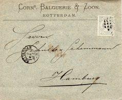 8 MRT 93 Firma-envelop Met NVPH 38 Van Rotterdam Naar Hamburg - Periode 1891-1948 (Wilhelmina)