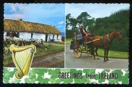 *Greetings From Ireland* Circulada 1968. - Irlanda