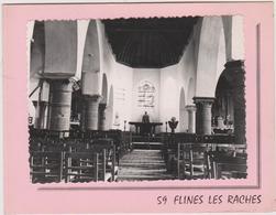 59 Flines Les Raches Interieur De L'eglise - Autres Communes