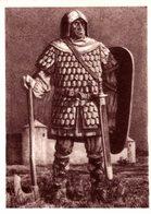 IMAGE LE PEUPLE BELGE   LE CHEMIN DE L'HISTOIRE SERIE 1   N° 18 GUERRIER CAROLINGIEN - Trade Cards
